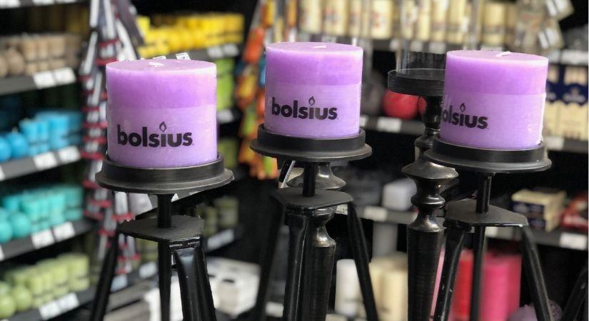 Bolsius kaarsen kopen met of zonder standaard