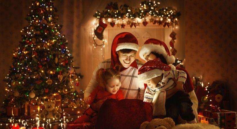 Versierde kerstboom kopen