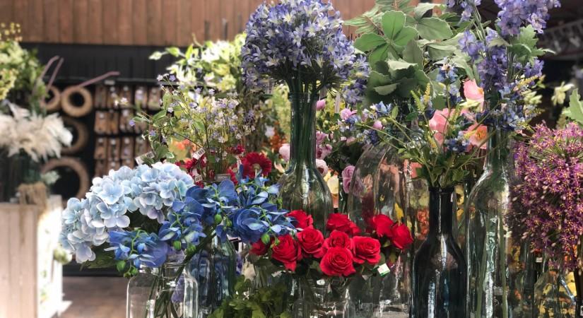 kunstplanten en kunstbloemen voor buiten kopen