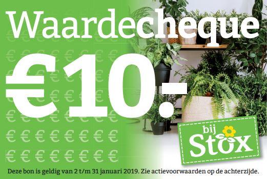 waardecheque 10 euro - kerstboom kopen